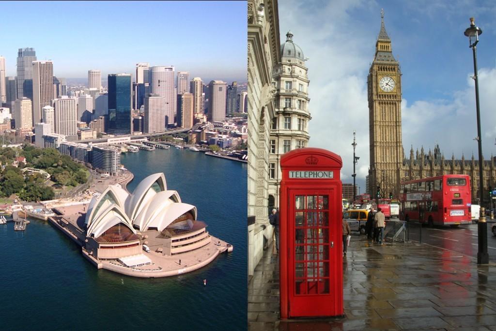 лондон австралия