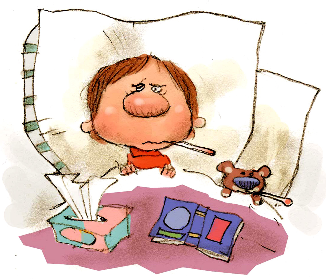 300 dpi 2 col x 3.25 in / 96x83 mm / 327x281 pixels Chris Ware color illustration of sick little boy and his teddy bear tucked into bed with a thermometer, tissues and a book. Lexington Herald-Leader 2005   KEYWORDS: krtflu krtinfluenza krtcoldflu influenza illnesskids cold teddy bear tissues thermometer children child flu sick sickness runny nose sneeze sneezing temperature fever symptoms krthealthmed krtnational national krtworld world krtcoldflu krthealth health krt aspecto aspectos salud illustration joven osito felpa ilustracion grabado gripe estornudar enfermo mareado lx contributor coddington ware 2005 krt2005